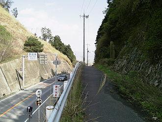 Tōge - Image: Takenouchi Touge 01