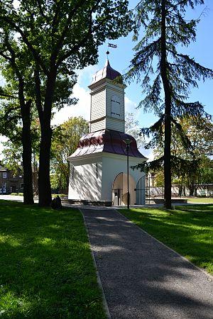 Kalamaja cemetery - Image: Tallinn, Kalamaja kalmistu värav kellatorn, 1780 (3)