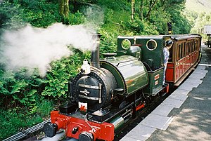 Fletcher, Jennings & Co. - Talyllyn at the Talyllyn Railway.
