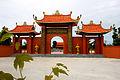 Tam quan Thiền viện Trúc Lâm Phương Nam.JPG