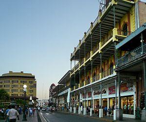 Tampico - Buildings on Calle Juarez