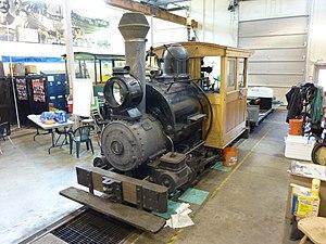 Tanana Valley Railroad - Image: Tanana Valley No 1