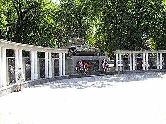 Simferopol - OT-34, monument of World War II
