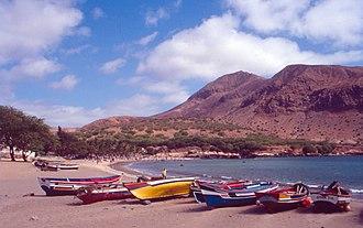 Tarrafal, Cape Verde (municipality) - Beach