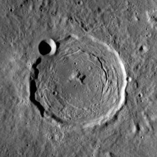 Taruntius (crater) impact crater