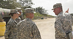 Task Force Talon welcomes Hill, first female to command deployed THAAD battery 150303-A-QQ532-082.jpg