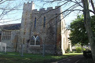 Taunton Castle - Rear of the castle