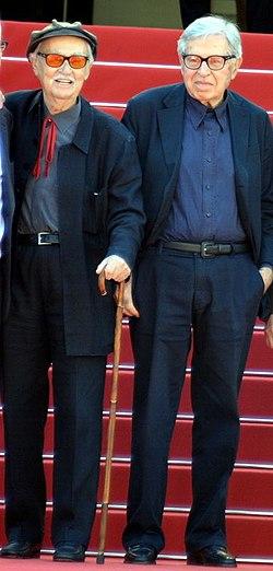 Taviani brothers Cannes 2015.jpg