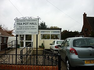 Bottesford, Lincolnshire - Tea Pot Hall – formerly a meeting place for the elderly, since relocated.
