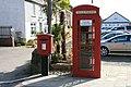 Telephone and post boxes in Devoran - geograph.org.uk - 1225965.jpg