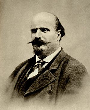 Giuseppe Verdi - Temistocle Solera, Verdi's first librettist.