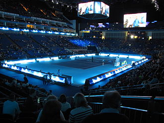 2012 ATP World Tour Finals - Singles play on the O2 Arena during the 2012 event