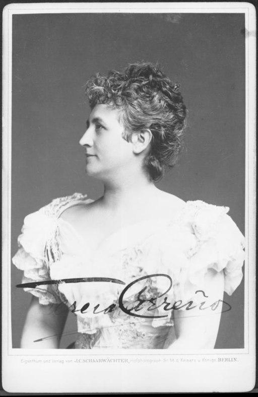 Photo of Teresa Carreño