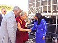 Terri Sewell meeting the Dalai Lama in 2014.jpg