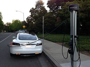 ChargePoint - A ChargePoint public charging station at the Hillsboro Civic Center in Hillsboro, Oregon.