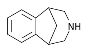 2,3,4,5-Tetrahydro-1,5-methano-1H-3-benzazepine - Image: Tetrahydromethanoben zazepine