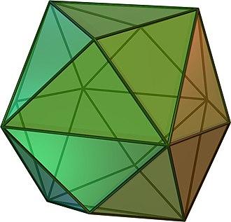 Conway polyhedron notation - Image: Tetrakishexahedron
