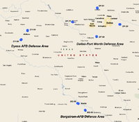 Texas Nike Missile Sites