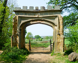 Badby - Arch Gate of Badby Wood