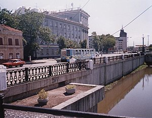 Bolaq - Bolaq embankment in 1990s