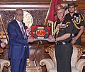 The Chief of Army Staff, General Bipin Rawat meeting the President of Bangladesh, Mr. Abdul Hamid, at President House, in Bangladesh on April 01, 2017.jpg