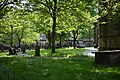 The Church of St. John the Baptist graveyard, Newcastle.jpg