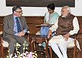 The Co-Chair and Trustee, Bill and Melinda Gates Foundation (BMGF), Mr. Bill Gates calling on the Prime Minister, Shri Narendra Modi, in New Delhi on December 04, 2015 (1).jpg
