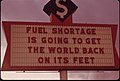 The Energy Crisis in the States of Oregon and Washington Resulted in Attempts at Humor by Businesses with Darkened Signs Such as This One in Vancouver, Washington 11-1973 (4271726279).jpg