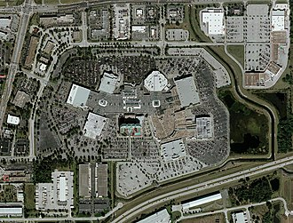 The Florida Mall - Aerial view of The Florida Mall