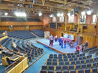 General Assembly Hall of the Church of Scotland multi-purpose venue in Edinburgh, Scotland