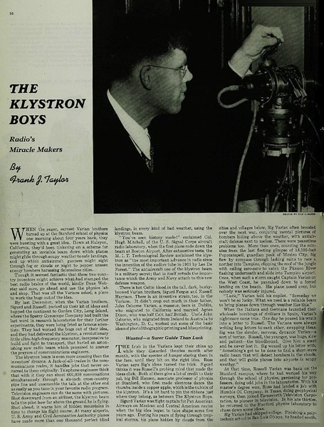 File:The Klystron boys, Radio's miracle makers in Saturday Evening Post Feb 8, 1941.pdf