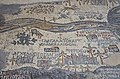 The Madaba Map, part of a floor mosaic in the early Byzantine church of Saint George depicting the Holy Land in the 6th century AD, Madaba, Jordan (34477830641).jpg