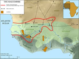 Musa I of Mali - The Mali Empire at the time of Mansa Musa's death.