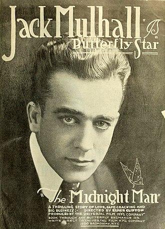 Jack Mulhall - Image: The Midnight Man