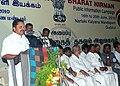 The Minister for Khadi, Tamil Nadu, Shri K Ramachandran addressing at the Public Information Campaign on Bharat Nirman, at Gudalur, Nilgiri District, in Tamil Nadu on June 17, 2010.jpg