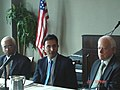 The Minister of State of Petroleum and Natural Gas, Shri Jitin Prasad Chairing an Investors' Roundtable, on the occasion of NELP-VIII & CBM-IV Road Show, at Houston, USA on August 21, 2009.jpg