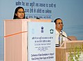 The Minister of State of Rural Development, Ms. Agatha Sangma addressing at the inauguration of the Conference of State Secretaries of Rural Drinking Water Supply and Sanitation, in New Delhi on May 05, 2010.jpg