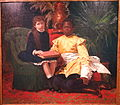 The Negro and I by Gustave Vanaise, 1886 - Museum M - Leuven, Belgium - DSC05435.JPG