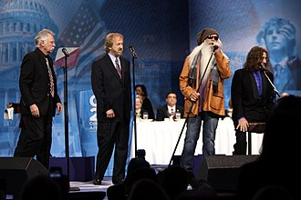 The Oak Ridge Boys - The Oak Ridge Boys in 2013 (l–r: Bonsall, Allen, Golden, Sterban)