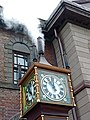 The Otaru Steam Clock 時計 steaming on the Marchen intersection in Otaru Hokkaido Japan (3884434944).jpg