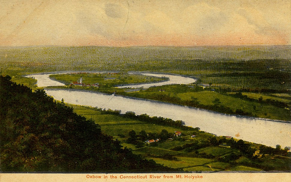 The Oxbow, Connecticut River c 1910