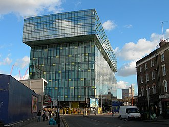 Transport for London - The Palestra building, home to TfL's Surface Transport and Traffic Operations Centre (STTOC)