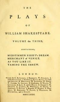 William Shakespeare Plays Pdf