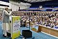The Prime Minister, Shri Narendra Modi addressing at the inauguration of the Conference on Academic Leadership on Education for Resurgence, in New Delhi on September 29, 2018 (1).JPG