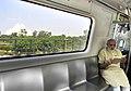 The Prime Minister, Shri Narendra Modi travelling by the Delhi Metro to the inauguration ceremony of the Badarpur-Faridabad Metro Line on September 06, 2015.jpg