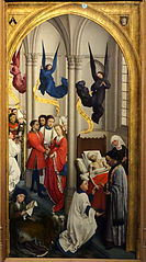 The Seven Sacraments (right panel)