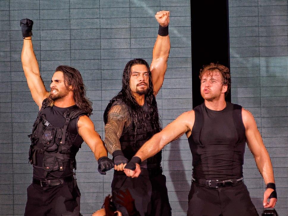 The Shield's fist pose