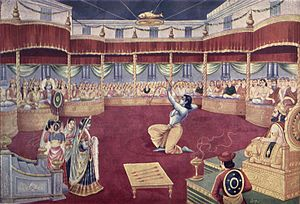 Arjuna - the Swayamvara of Panchala's princess, Draupadi
