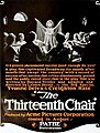 The Thirteenth Chair (1919) - Ad 2.jpg