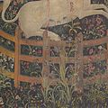 The Unicorn in Captivity (from the Unicorn Tapestries) MET DP101276.jpg